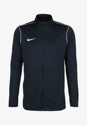 PARK - Training jacket - obsidian / white