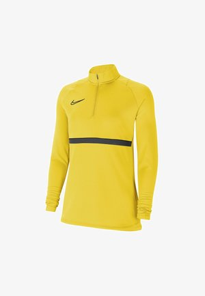 DRY ACADEMY  - Fleece jumper - tour yellow/black/anthracite/black