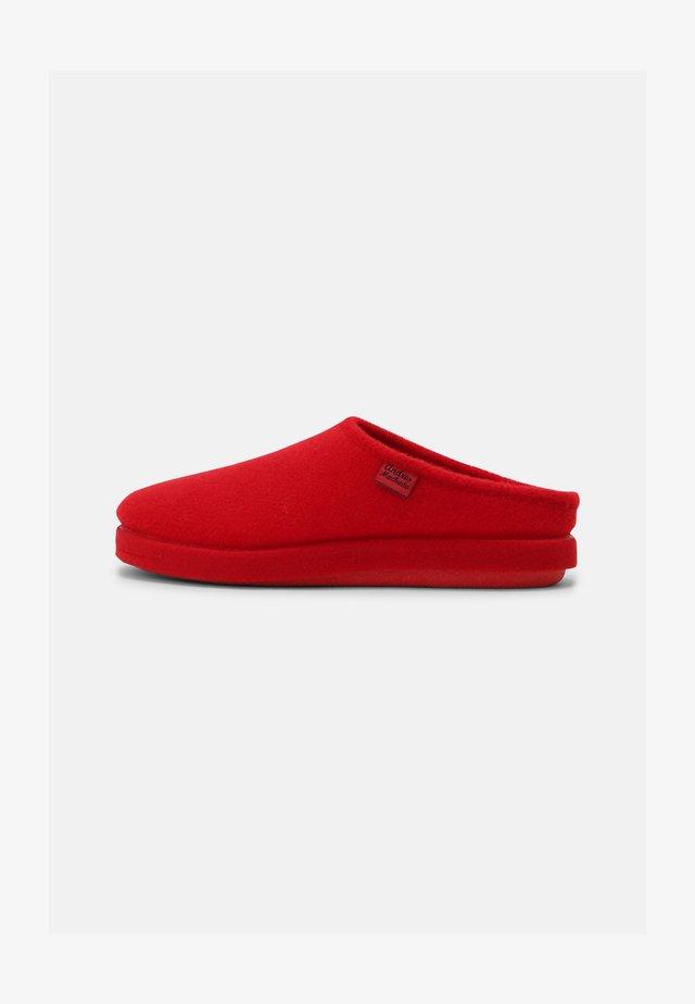 UNISEX - Pantoffels - rojo