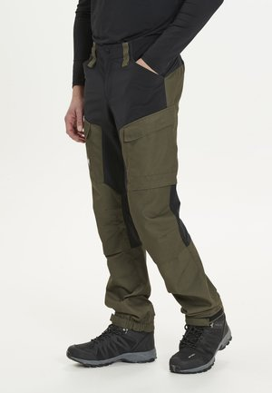 ROMNING M - Cargo trousers - 3052 forest night