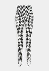 Monki - SARAH - Leggingsit - white/black - 8
