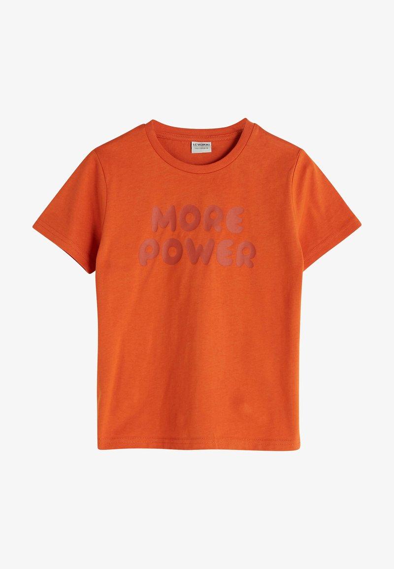 LC Waikiki - Print T-shirt - orange