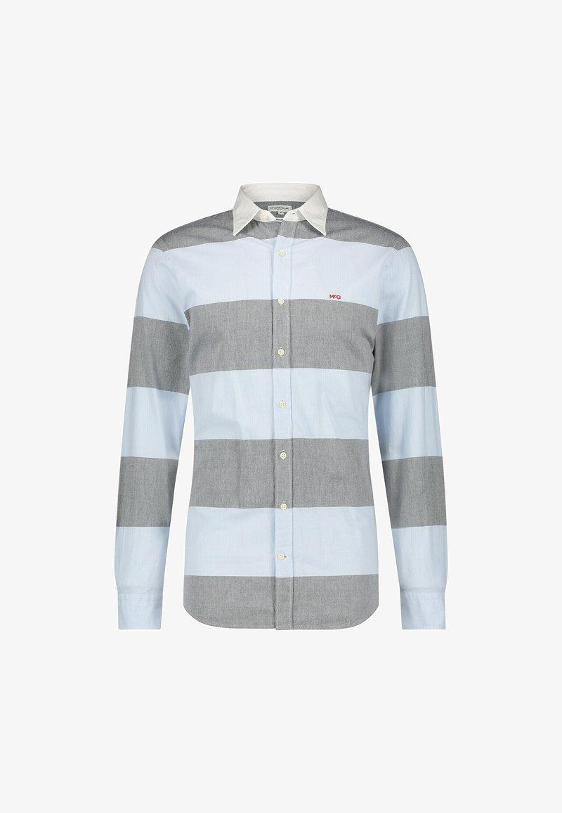McGregor - RUGBY STRIPE - Shirt - bright navy