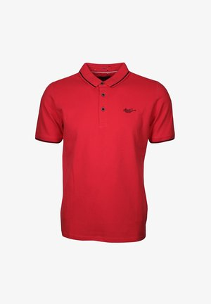 Polo shirt - tomatenrot