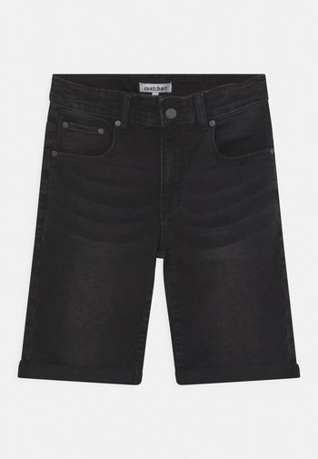 JOWIE - Denim shorts - black denim