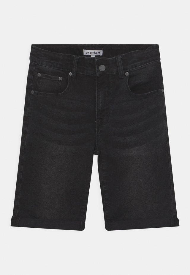 JOWIE - Short en jean - black denim