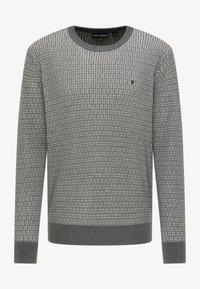 TUFFSKULL - Stickad tröja - dunkelgrau - 4