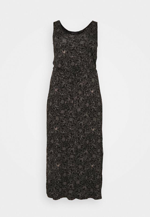 Długa sukienka - blush