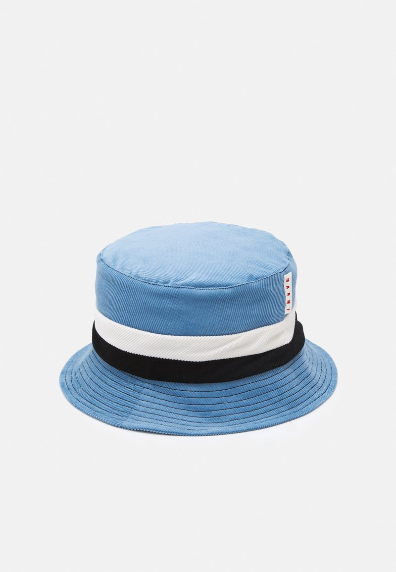 Marni - HAT UNISEX - Hat - orion blue/black/limestone
