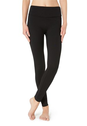 TOTAL SHAPER LEGGINGS - Leggings - Stockings - black