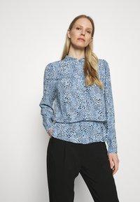 Marks & Spencer London - STAR FRILL PEPLUM - Blouse - blue - 0