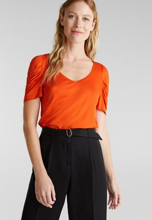 BALLON - Print T-shirt - rust orange