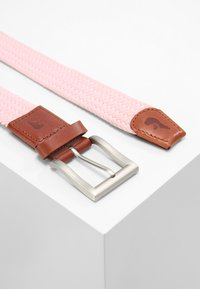Slopes&Town - CLASSIC - Braided belt - pink - 2