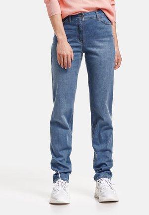 Straight leg jeans - blue denim mit use