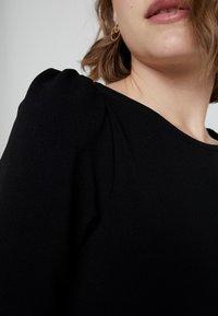 Dorothy Perkins - PUFF SLEEVE BODYCON - Etuikjoler - black - 6