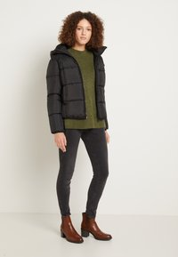 TOM TAILOR DENIM - Winter jacket - deep black - 1