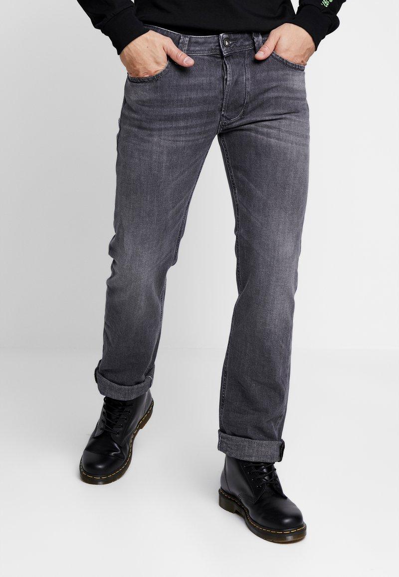 Diesel - LARKEE - Straight leg jeans - grey denim