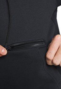 Nike Performance - NBA MIAMI HEAT CITY EDITION ESSENTIAL HOODIE - Club wear - black - 5