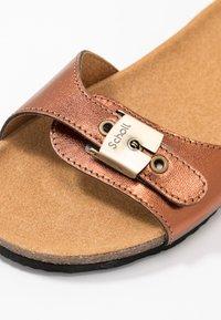 Scholl - BAHAMAIS - Slippers - bronze - 2