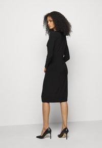 Lauren Ralph Lauren - CLASSIC DRESS - Jerseyjurk - black - 2