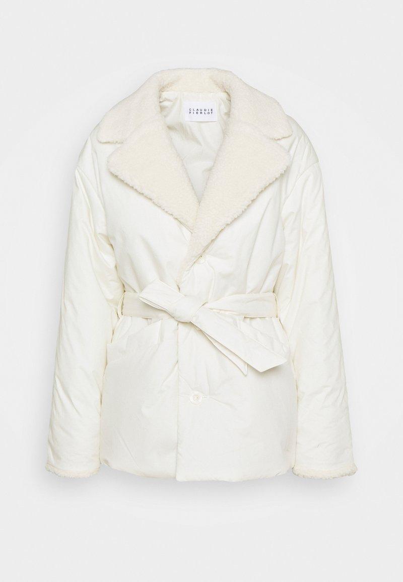 Claudie Pierlot - GREGO - Winter jacket - ecru
