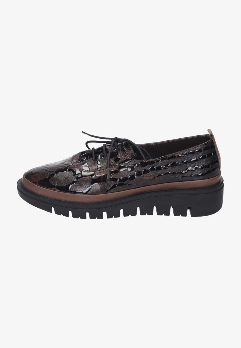 Piazza - Casual lace-ups - braun