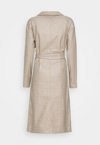 Vero Moda Tall - VMFORTUNE LONG JACKET - Classic coat - silver mink/melange - 1