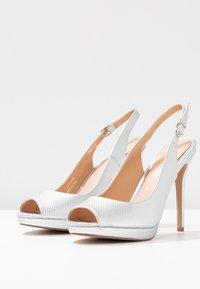 Lulipa London - DALLAS - Høye hæler med åpen front - metallic - 4