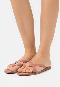 Madewell - BOARDWALK LIV  - T-bar sandals - rose dust - 0