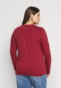 Ragwear Plus - PINCH - Long sleeved top - red - 2
