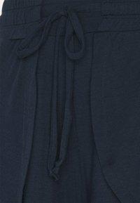 Cotton On Body - DOUBLE LAYER PETAL HEM SHORT - Sports shorts - navy - 5