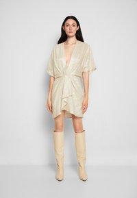 Iro - HALSEY - Cocktail dress / Party dress - nude - 0