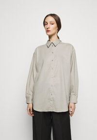 House of Dagmar - GINA  - Button-down blouse - light grey - 0
