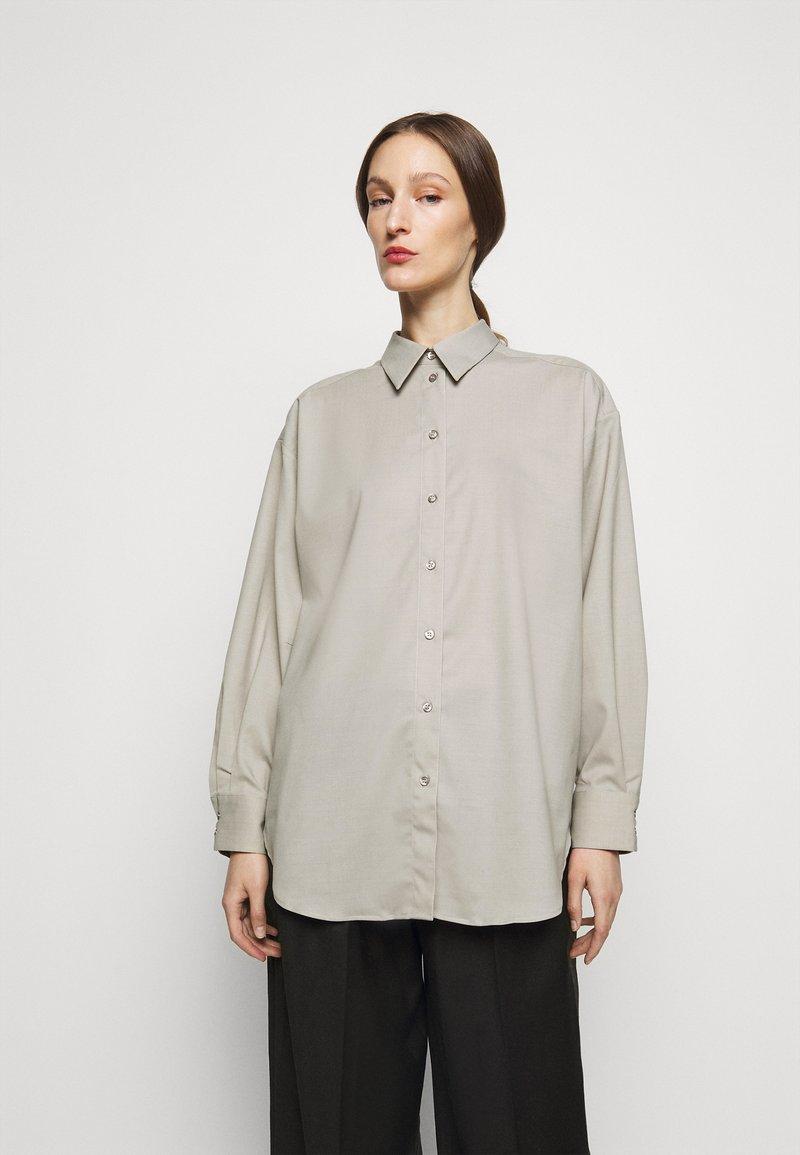 House of Dagmar - GINA  - Button-down blouse - light grey