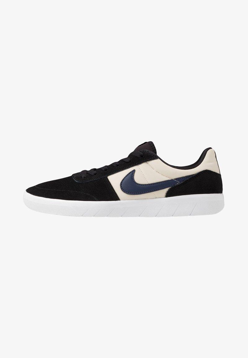 Nike SB - TEAM CLASSIC - Skateschoenen - black/midnight navy/fossil/white