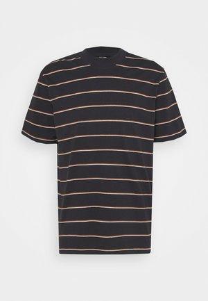 ONSALAN LIFE MOCK NECK TEE - T-shirt med print - dark navy