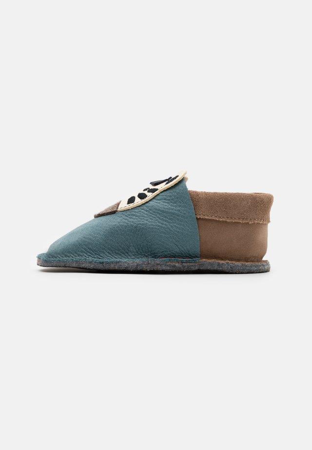 KIGA ZEBRA UNISEX - Pantoffels - blau