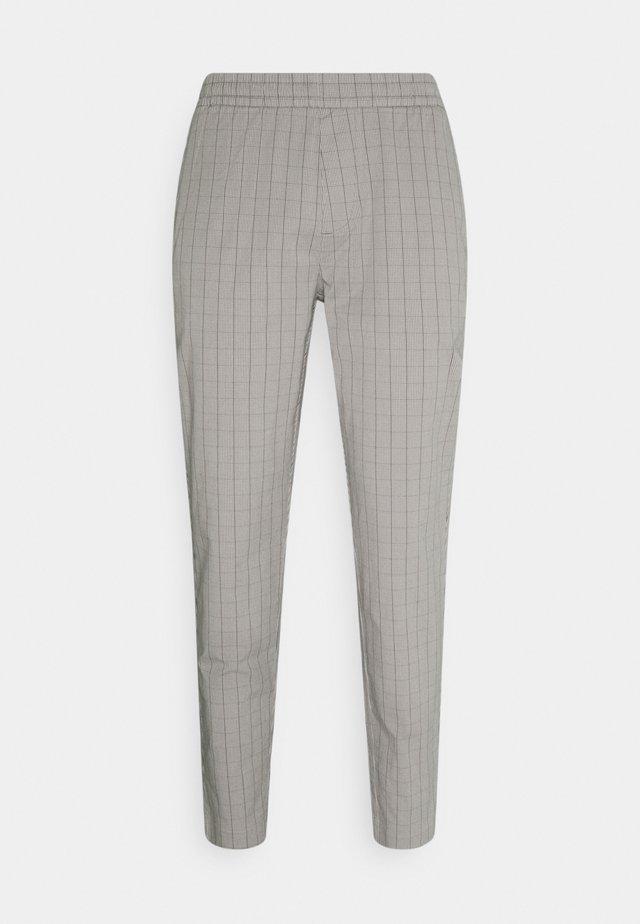 Kalhoty - grey plaid