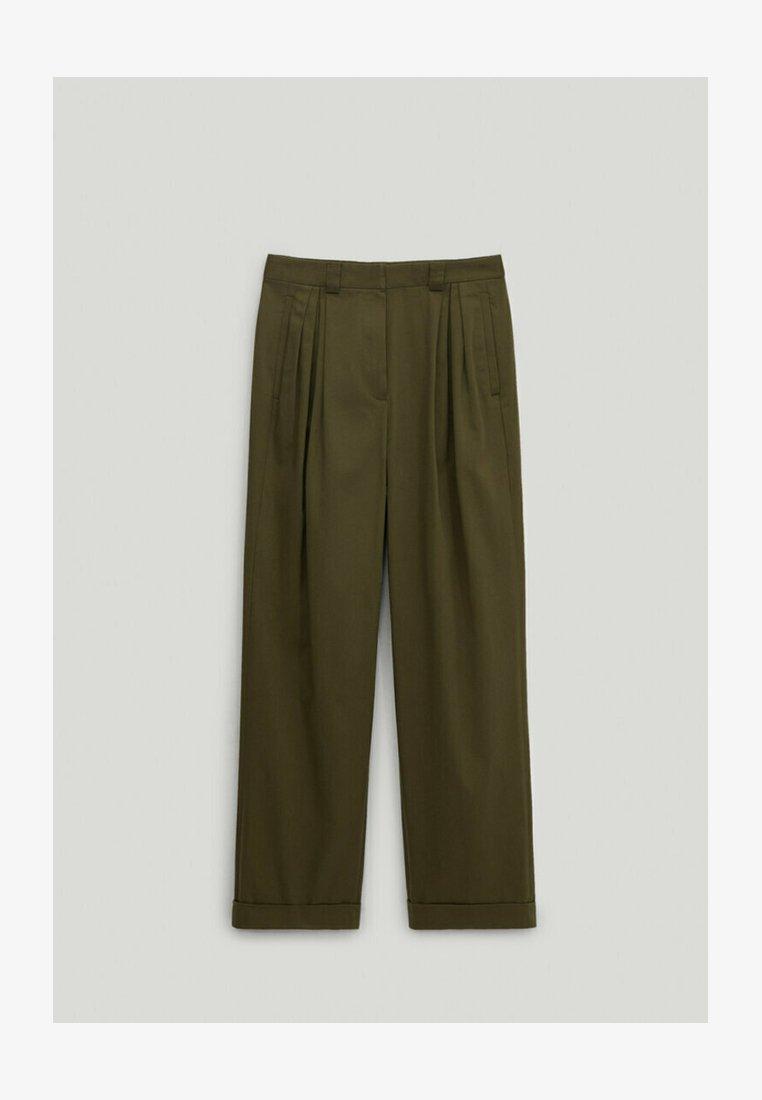 Massimo Dutti - Trousers - khaki