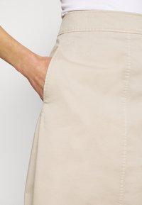 Marc O'Polo - A-line skirt - feather grey - 4