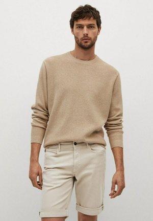 Jeans Shorts - open beige