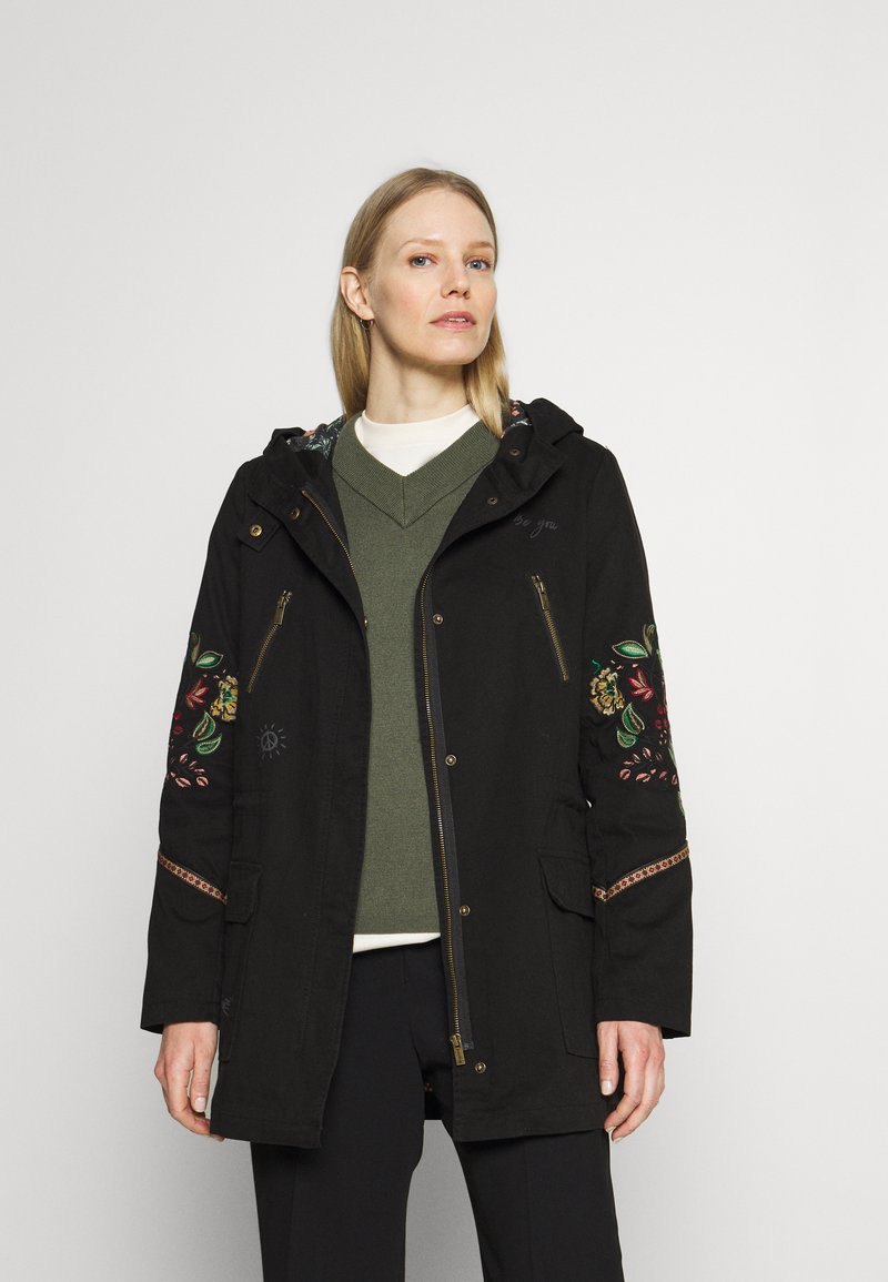 Desigual - Classic coat - black