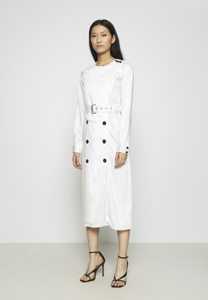 TRENCH DRESS - Day dress - cream