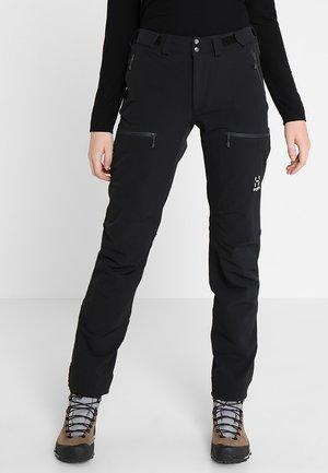 BRECCIA PANT - Outdoor trousers - true black/magnetite