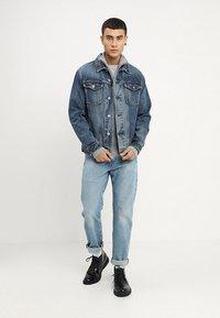 Superdry - HIGHWAYMAN TRUCKER - Denim jacket - vale mid blue - 1