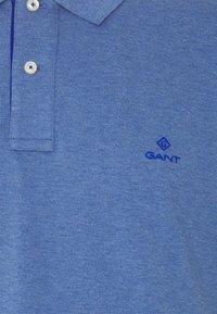GANT - PLUS CONTRAST COLLAR RUGGER - Piké - denim blue - 2