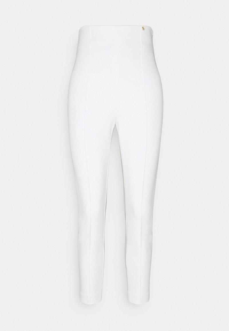 LIU JO - PANT SKINNY - Kalhoty - star white