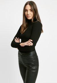 Kookai - Leather trousers - z2-noir - 2