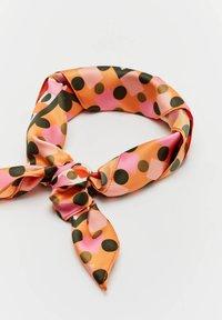 PULL&BEAR - Foulard - orange - 7