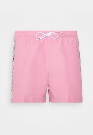 DRAWSTRING - Swimming shorts - pink